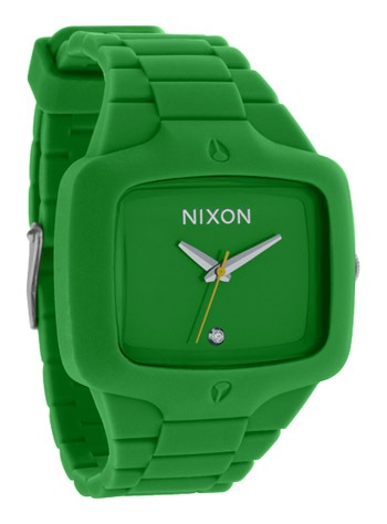 nixonrubberplayergreen