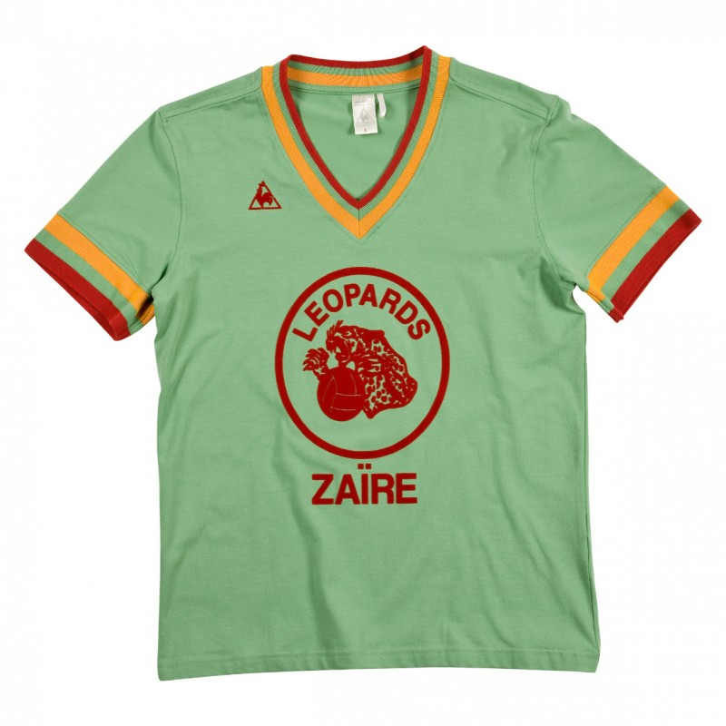 T-Shirt replica Zaïre 74 Leopards LCS