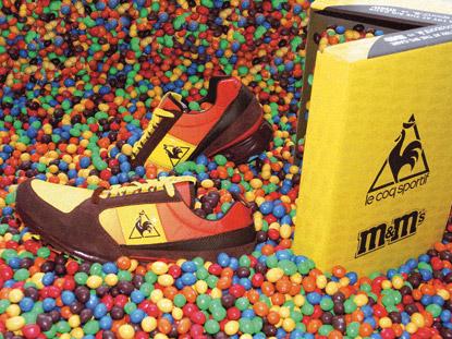 Sneaker Eclat M&M's