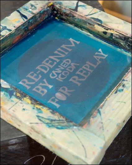 « RE-DENIM by CANEDICODA for REPLAY »