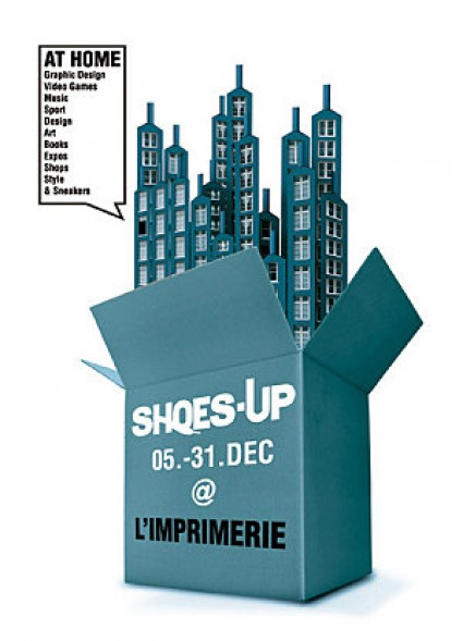Shoes-up à l'imprimerie