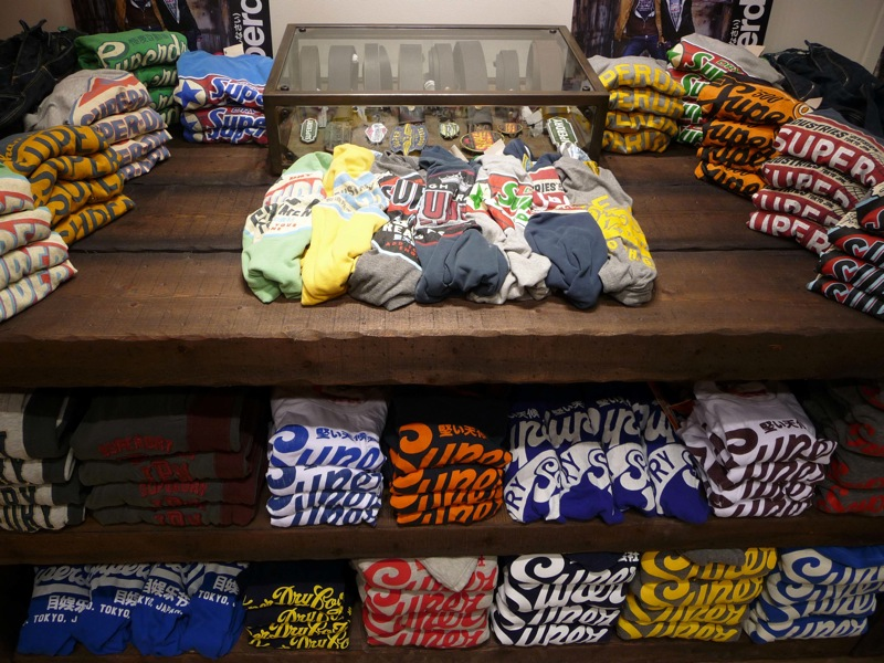 Superdry s'installe à Paris