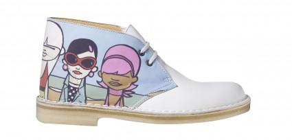 La Desert Boots, Clarks X Pete Mc Kee