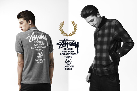 Fred Perry aime Stüssy