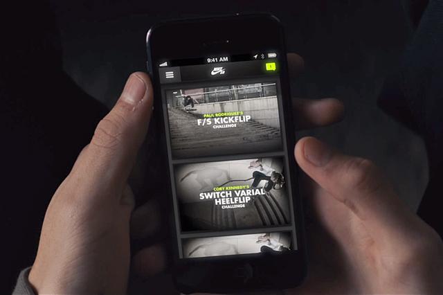 NIKE SB sur votre smartphone