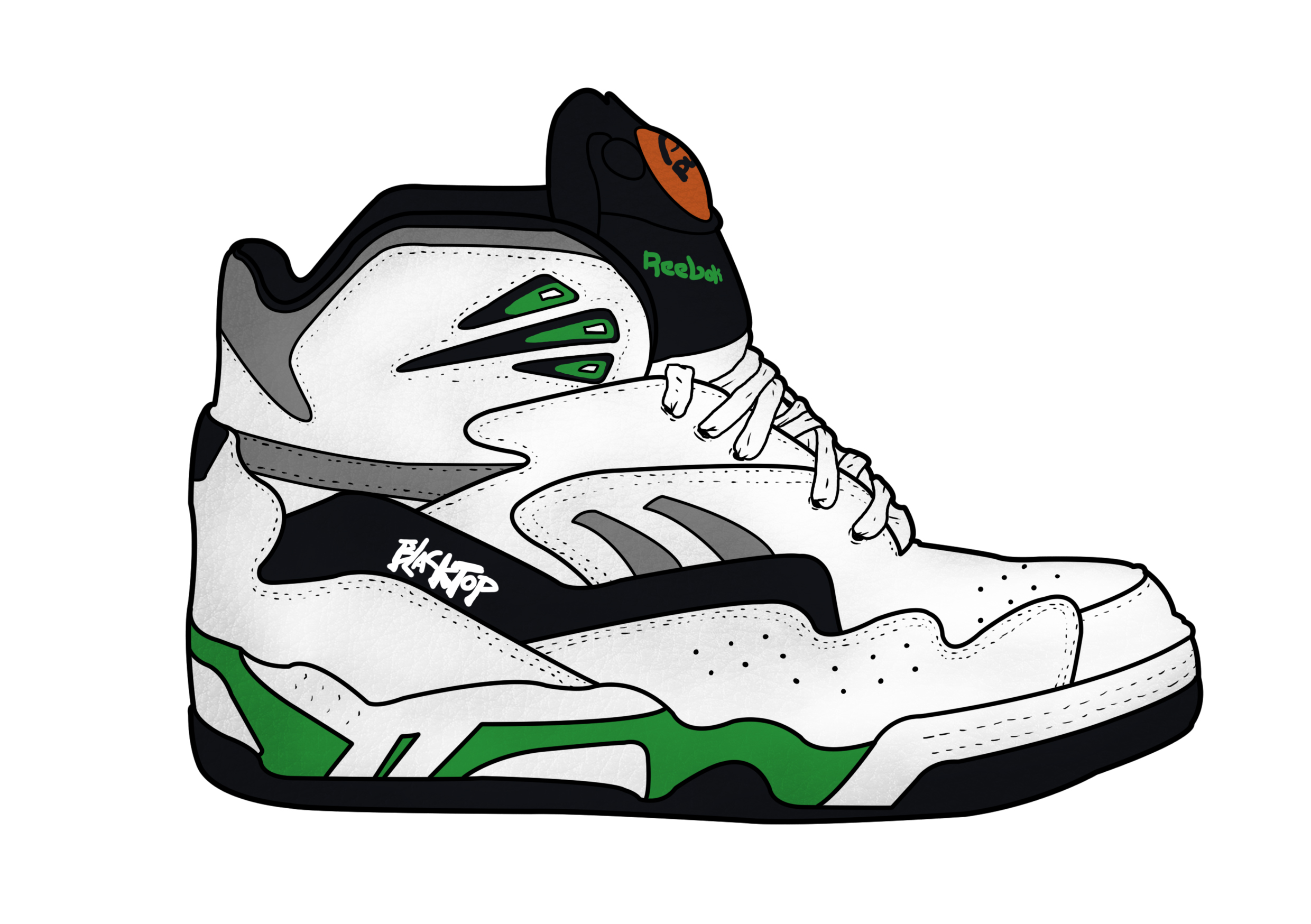 25 ANS DE LA PUMP: REEBOK BLACKTOP BATTLEGROUND