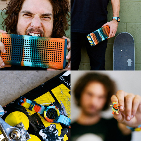 Lecloset magazine/ Nixon/ Grizzly collaboration/ Torey Pudwill