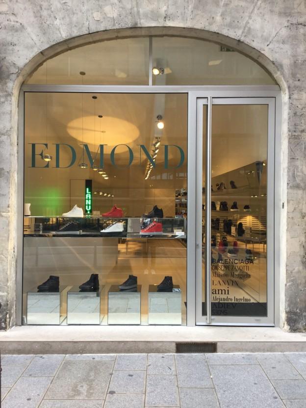 Edmond Paris, une sneakers room dédiée à l'homme