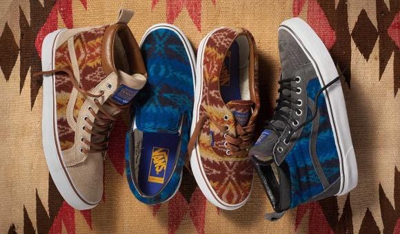 VANS presente sa nouvelle collection footwear avec les imprimes PENDLETON