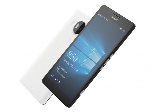 Prise en main du lumia 950