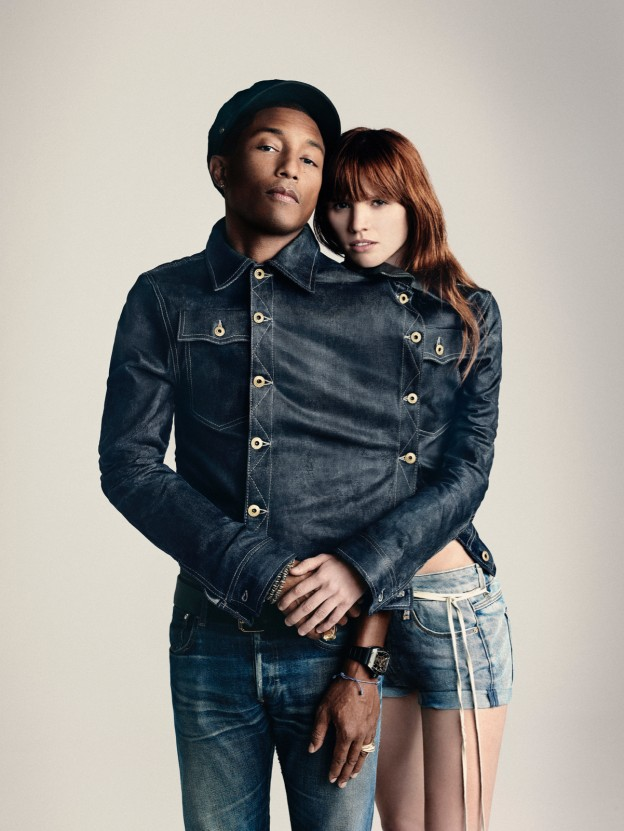 Pharrell Williams_co-owner G-Star RAW