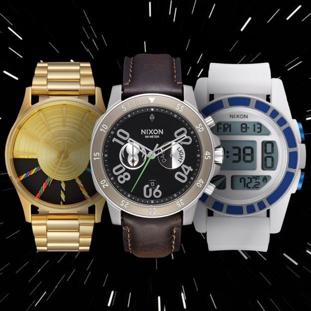 Star wars Nixon collection: The light Side