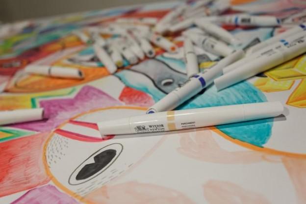 Les Pigments Marker par Winsor & Newton