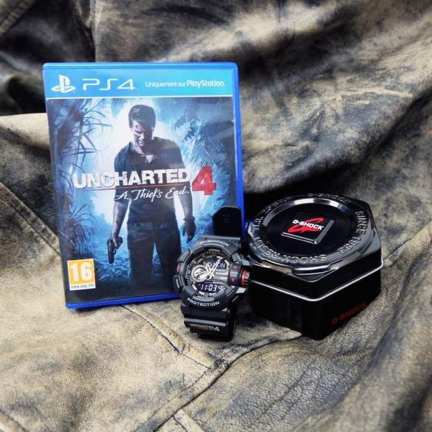 G-SHOCK et Uncharted4