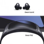 Samsung dévoile le bracelet connecté Gear Fit2 et  les écouteurs sans fil intelligents Gear IconX