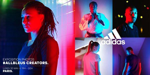 #allbleus creators: Adidas presente le futur