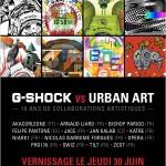G-Shock vs Urban art