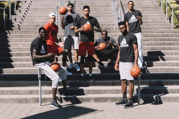 Les rookies d'Adidas présente la Shark Black