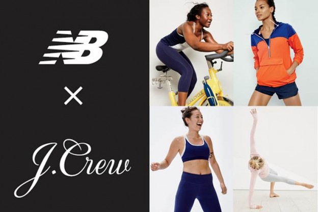 LA COLLECTION ACTIVEWEAR DE NEW BALANCE ET  J.CREW SPORT