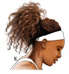 All hail the Queen Serena Williams