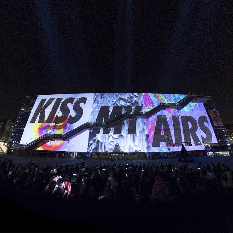 INSTA KISS MY AIRS PROJECTION
