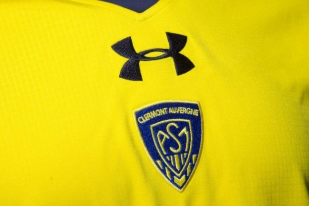 maillot-supporteur-rugby-enfant-asm-clermont-auvergne-jaune-under-armour-logo