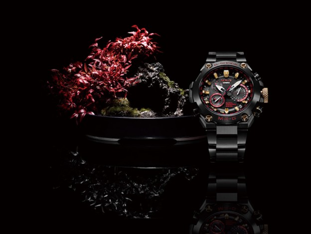 CASIO G-SHOCK MR-G QUAND L'ARTISANAT RENCONTRE LA TECHNOLOGIE.