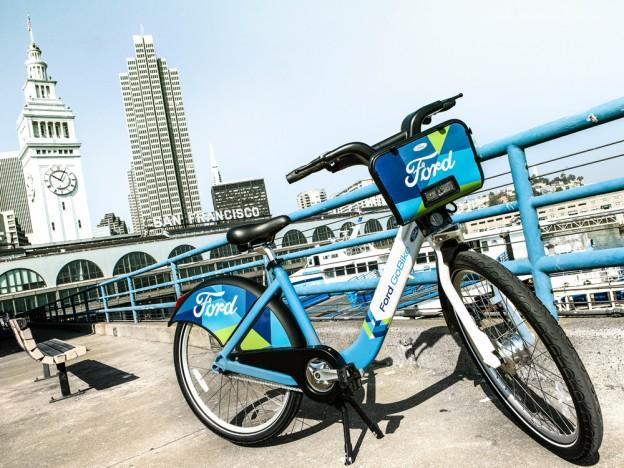 Ford opte pour le vélib' version San Francisco