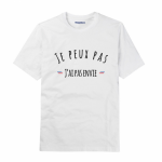 Collection Tshirts  » Je peux pas  » – Triaaangles