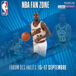 LA NBA REVIENT A PARIS DU 15 au 17 SEPTEMBRE AVEC LA NBA FAN ZONE PRESENTEE PAR beIN SPORTS ET L'EXPOSITION CULTURELLE « NBA CROSSOVER »
