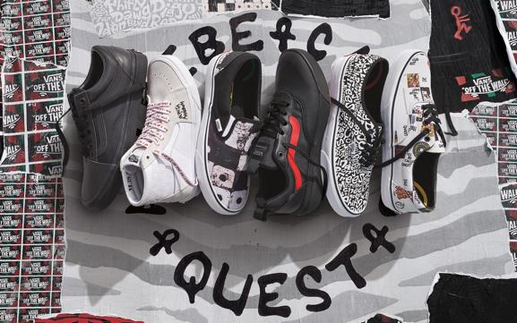 Vans et A Tribe Called Quest dévoilent un projet de chaussures exclusif