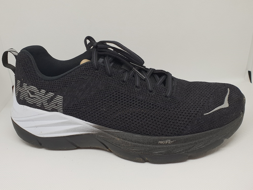 Hoka One One Mach Fly at Night