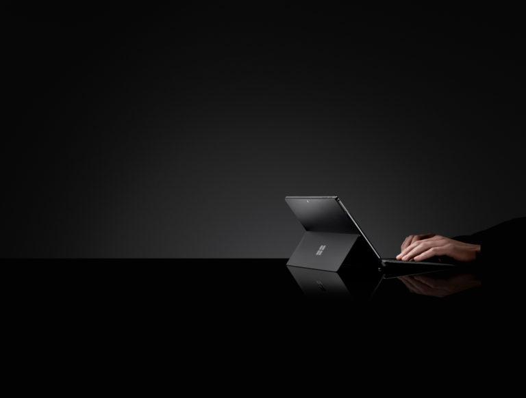 Microsoft présente sa nouvelle collection Surface Black