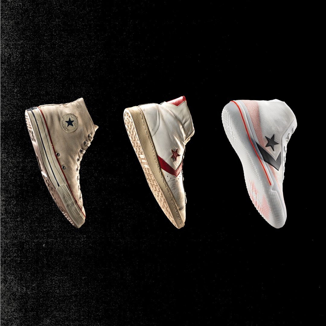 Converse Basketball revient !!! LE CLOSET