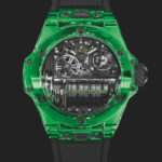 Hublot makes history with green MP-11