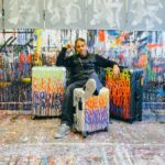 Tumi teams up with the artist  JonOne